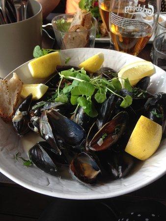 Clarion Hotel Post: fanstastiska musslor