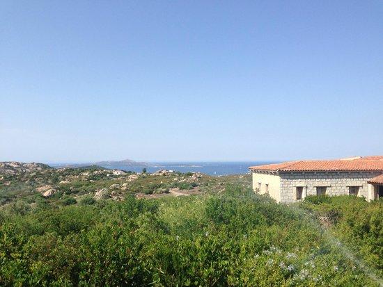 Hotel Li Finistreddi : La vista dalla terrazza colazione