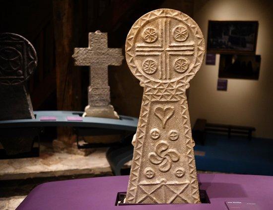 Musée Basque : Collection Basque tombstones
