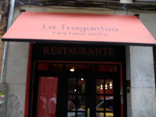 Restaurante La Tragantua: Entrada La Tragantua