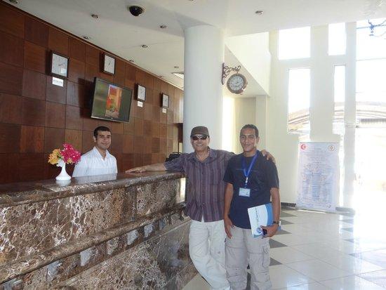 Aqua Hotel Resort & Spa: مكتب الاستقبال