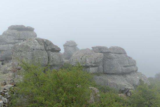 Parque Natural El Torcal: Misty but spectacular