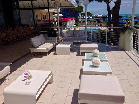 Hotel Carlton: La fantastica nuova terrazza frontemare
