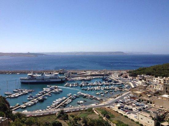 Grand Hotel Gozo: Prachtig zicht op de haven, Camino en malta