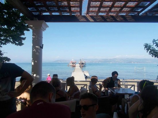 Trabukos Studios and Apartments: boat party dock