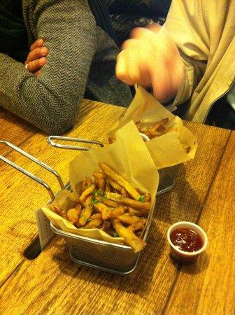 Blend Hamburger Argout : frite