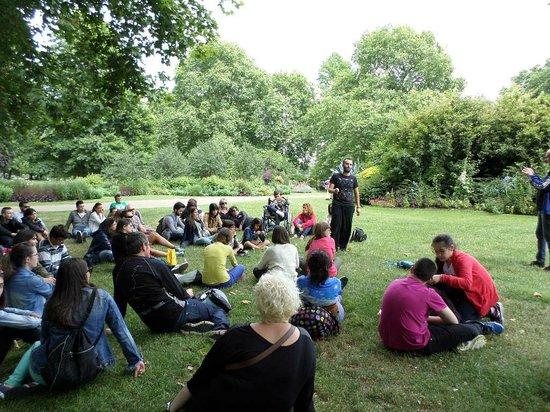 SANDEMANs NEW Europe - London: Un descanso pero atentos