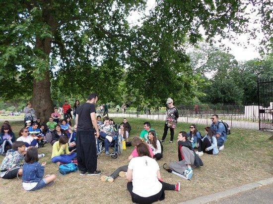SANDEMANs NEW Europe - London: Otro descanso y aprendiendo