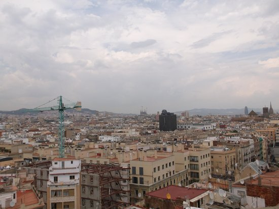 Barcelona Universal Hotel: Rooftop view