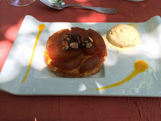 La Tonnelle : Tarte tatin et sa glace
