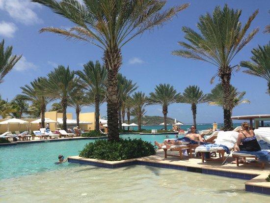 The Westin Dawn Beach Resort & Spa, St. Maarten: Pool area