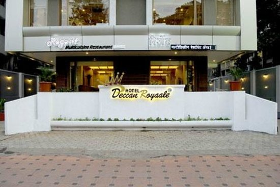 The Deccan Royaale: Front View