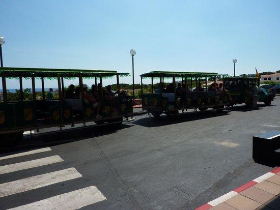 Fiesta Hotel Castell Playa: the local train