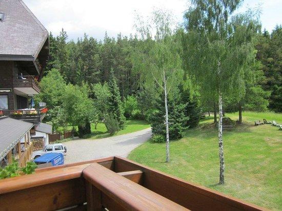 Hotel Schoene Aussicht : Zimmer mit Blicktal!