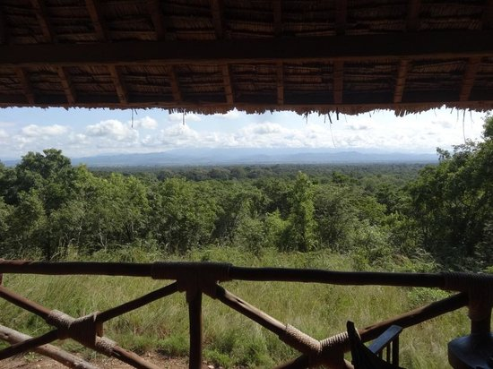 Selous Game Reserve: View from the verandah