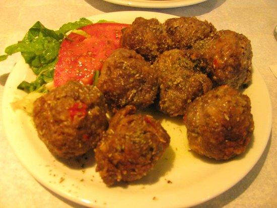 Estia Traditional Grill House: polpette di carne
