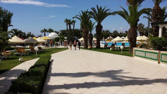 Eden Village Yadis Hammamet: Panoramica piscina esterna