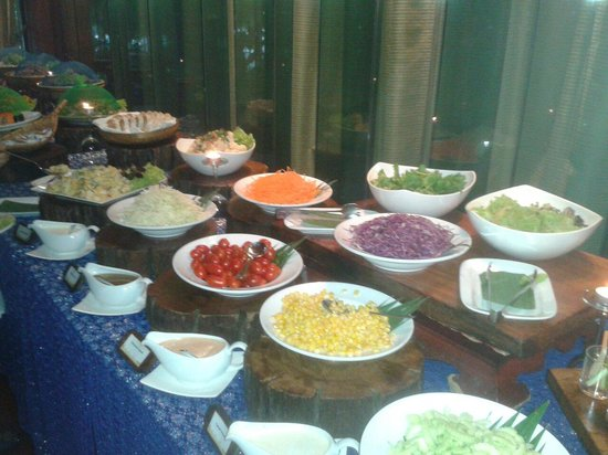 Siripanna Villa Resort & Spa: Salate