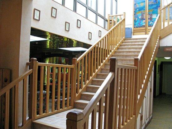 Auberge Champenoise : Escalier