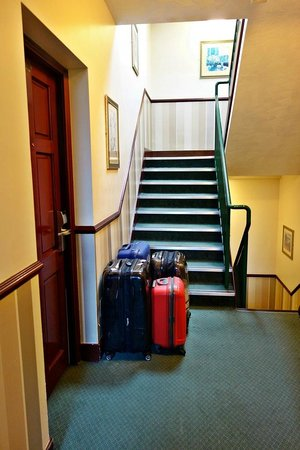 Malone Lodge Hotel & Apartments: Stairway to Apartment No. 5
