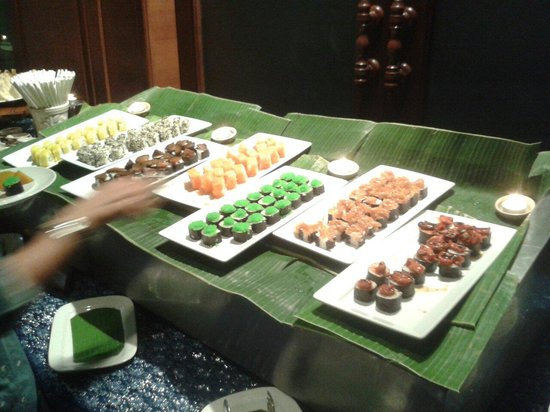 Siripanna Villa Resort & Spa : Sushi