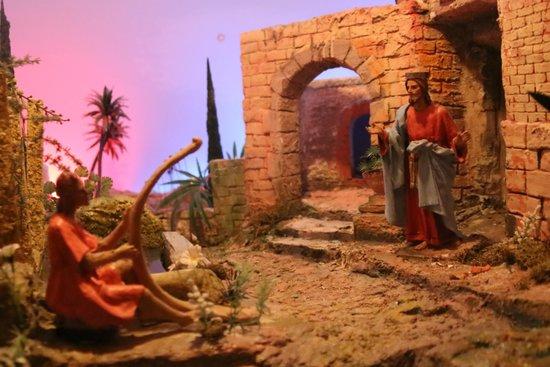 Il Presepe del Santuario dell'Amore Misericordioso a Collevalenza