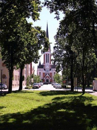 Murska Sobota Regional Museum: Парк и собор