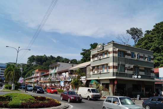 Borneo Backpackers: good location, not difficult to find!