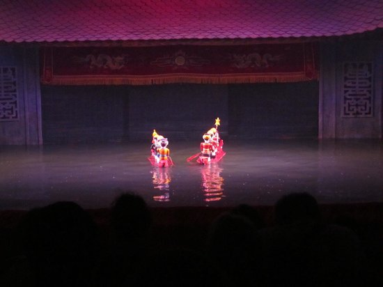 Thang Long Water Puppet Theater: Puppet performance