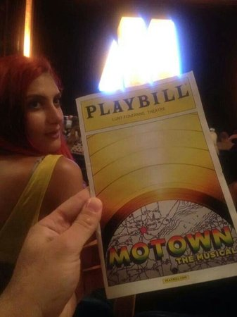 Motown The Musical on Broadway: 2 minutes till u hear the trumpets!