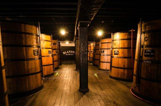 Blandy's Wine Lodge: The barrels