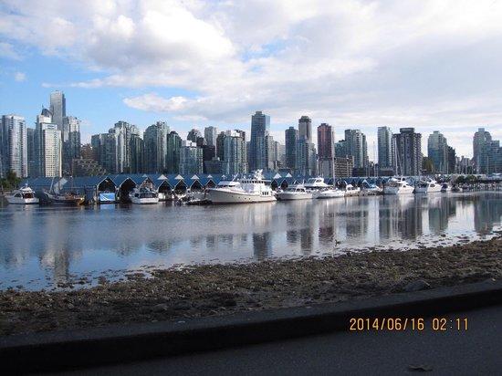 Centre-ville de Vancouver : スタンレーパークより