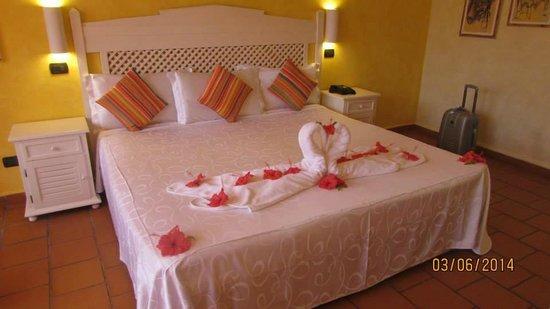 Andilana Beach Resort : la camera