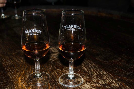 Blandy's Wine Lodge: The samples