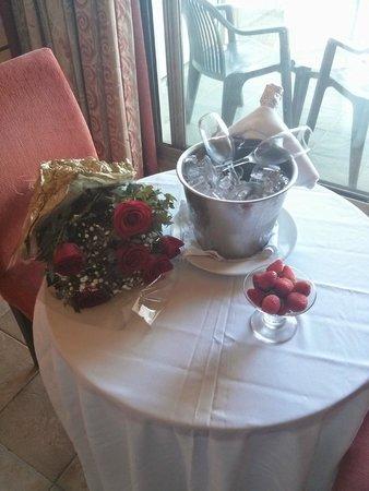 SERHS Natal Grand Hotel: boas vindas quarto