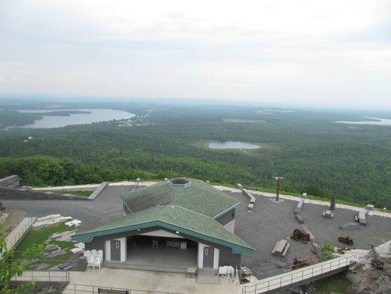 Lac-Drolet, แคนาดา: vue de la région