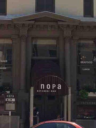 NOPA Kitchen & Bar: View