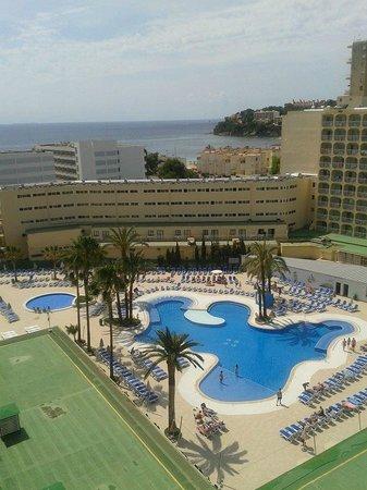 Hotel Samos: Pool