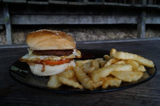 Paganakan Dii Tropical Retreat : i heart PD burger