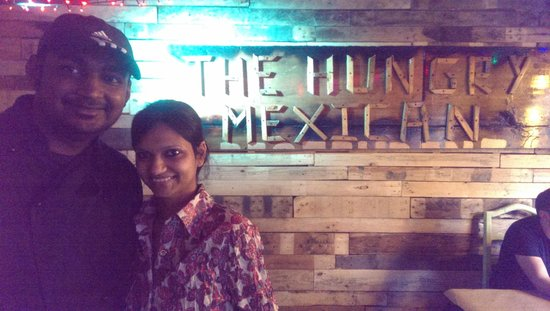 The Hungry Mexican: Chef Oman and wife and hostess.