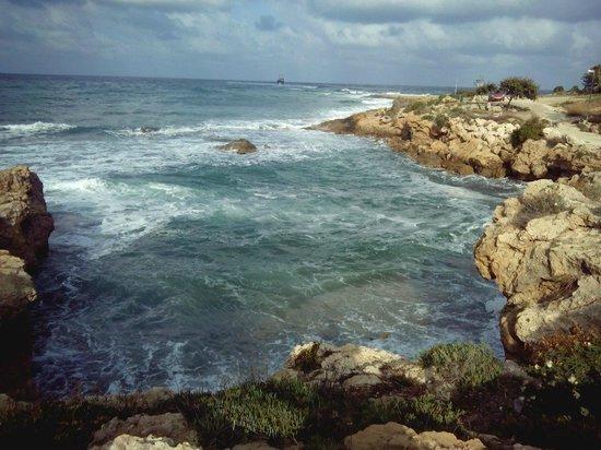 Akti Beach Village Resort : Бухта для купания
