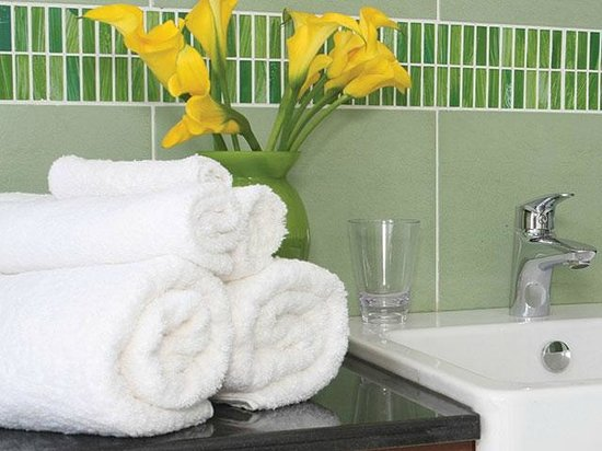 Batians Peak Serviced Apartments: Bathroom - Deluxe one Bedroom Luxury apartments