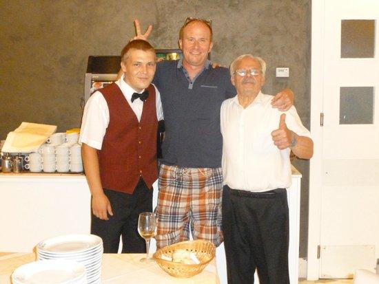 Hotel Club Sorrento: Sergio, hubbie & Franco