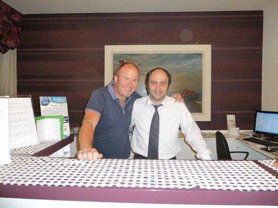 Hotel Club Sorrento: Hubbie with Luigi
