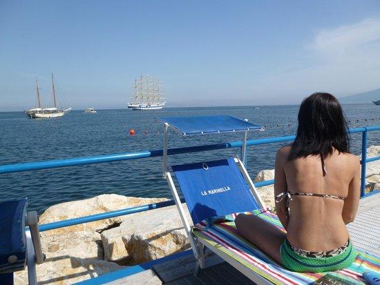 Hotel Club Sorrento: Marinella Beach