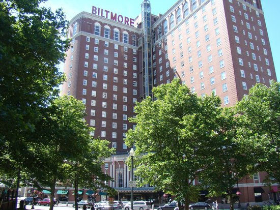 Providence Biltmore, Curio Collection by Hilton: View from the park across the street