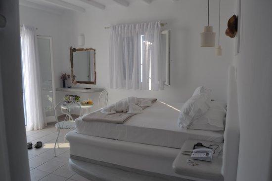 Tania Milos: chambre