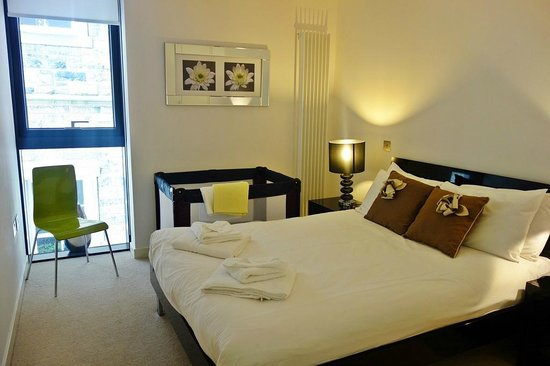 Scotia Grand Residence - Quartermile Apartments: Master bedroom