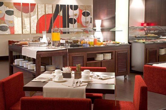 NH Sants Barcelona : Restaurant