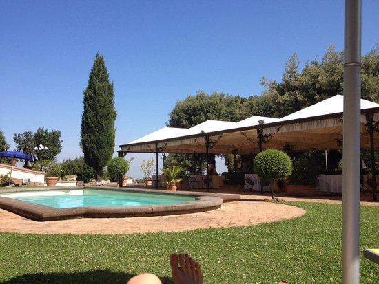 Grand Hotel Villa Tuscolana: Piscina